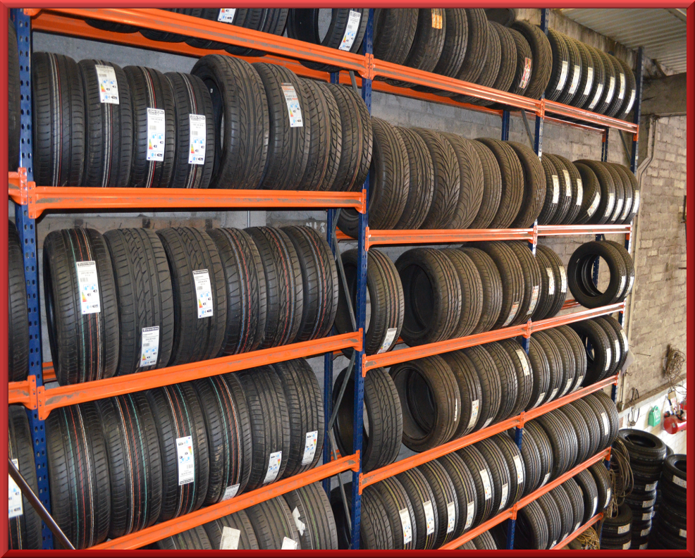 Our tyre stock